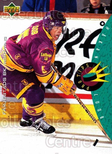 1995-96 Swedish Upper Deck #223 Hakan Loob<br/>10 In Stock - $2.00 each - <a href=https://centericecollectibles.foxycart.com/cart?name=1995-96%20Swedish%20Upper%20Deck%20%23223%20Hakan%20Loob...&quantity_max=10&price=$2.00&code=44495 class=foxycart> Buy it now! </a>