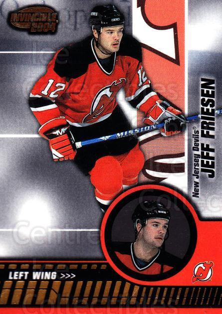 2003-04 Invincible #57 Jeff Friesen<br/>8 In Stock - $1.00 each - <a href=https://centericecollectibles.foxycart.com/cart?name=2003-04%20Invincible%20%2357%20Jeff%20Friesen...&quantity_max=8&price=$1.00&code=444969 class=foxycart> Buy it now! </a>