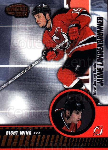 2003-04 Invincible #58 Jamie Langenbrunner<br/>8 In Stock - $1.00 each - <a href=https://centericecollectibles.foxycart.com/cart?name=2003-04%20Invincible%20%2358%20Jamie%20Langenbru...&quantity_max=8&price=$1.00&code=444970 class=foxycart> Buy it now! </a>
