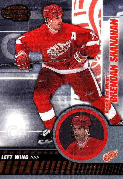 2003-04 Invincible #35 Brendan Shanahan<br/>4 In Stock - $1.00 each - <a href=https://centericecollectibles.foxycart.com/cart?name=2003-04%20Invincible%20%2335%20Brendan%20Shanaha...&quantity_max=4&price=$1.00&code=444973 class=foxycart> Buy it now! </a>