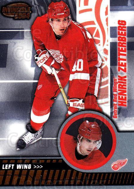 2003-04 Invincible #37 Henrik Zetterberg<br/>4 In Stock - $2.00 each - <a href=https://centericecollectibles.foxycart.com/cart?name=2003-04%20Invincible%20%2337%20Henrik%20Zetterbe...&quantity_max=4&price=$2.00&code=444974 class=foxycart> Buy it now! </a>