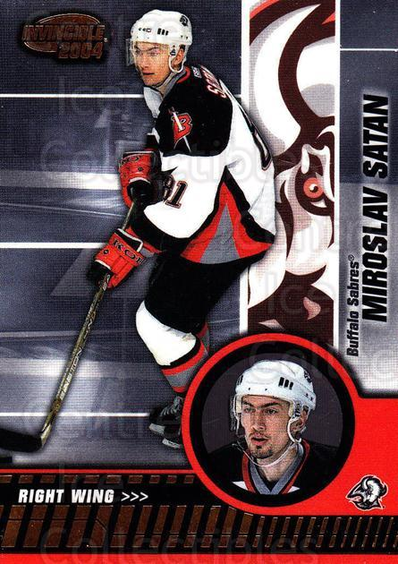 2003-04 Invincible #11 Miroslav Satan<br/>6 In Stock - $1.00 each - <a href=https://centericecollectibles.foxycart.com/cart?name=2003-04%20Invincible%20%2311%20Miroslav%20Satan...&quantity_max=6&price=$1.00&code=444985 class=foxycart> Buy it now! </a>