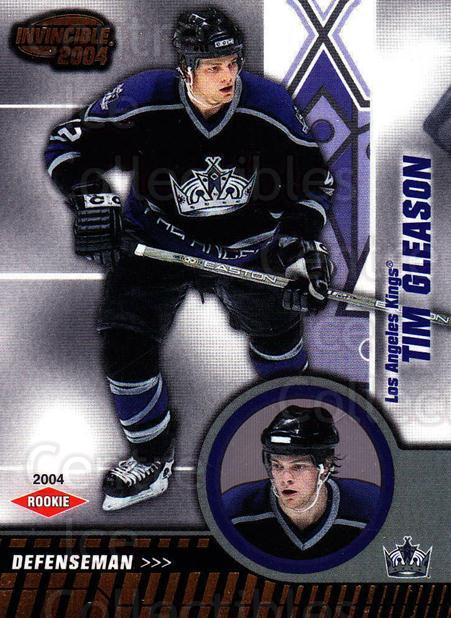 2003-04 Invincible #113 Tim Gleason<br/>3 In Stock - $3.00 each - <a href=https://centericecollectibles.foxycart.com/cart?name=2003-04%20Invincible%20%23113%20Tim%20Gleason...&quantity_max=3&price=$3.00&code=444989 class=foxycart> Buy it now! </a>