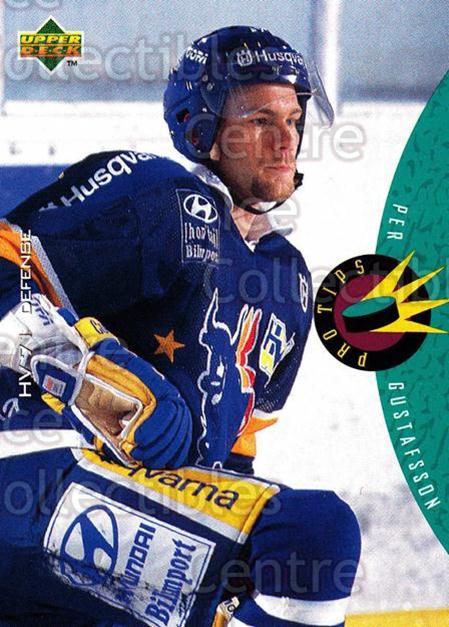 1995-96 Swedish Upper Deck #226 Per Gustafsson<br/>11 In Stock - $2.00 each - <a href=https://centericecollectibles.foxycart.com/cart?name=1995-96%20Swedish%20Upper%20Deck%20%23226%20Per%20Gustafsson...&price=$2.00&code=44498 class=foxycart> Buy it now! </a>