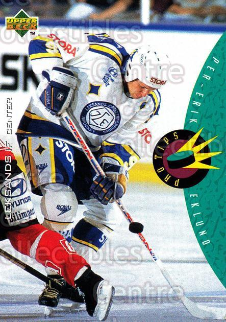 1995-96 Swedish Upper Deck #228 Per-Erik Eklund<br/>13 In Stock - $2.00 each - <a href=https://centericecollectibles.foxycart.com/cart?name=1995-96%20Swedish%20Upper%20Deck%20%23228%20Per-Erik%20Eklund...&quantity_max=13&price=$2.00&code=44500 class=foxycart> Buy it now! </a>