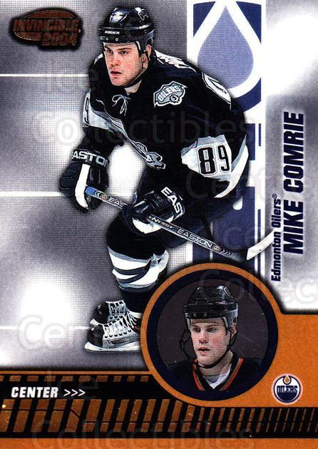 2003-04 Invincible #38 Mike Comrie<br/>9 In Stock - $1.00 each - <a href=https://centericecollectibles.foxycart.com/cart?name=2003-04%20Invincible%20%2338%20Mike%20Comrie...&quantity_max=9&price=$1.00&code=445011 class=foxycart> Buy it now! </a>