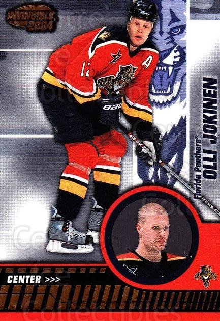 2003-04 Invincible #42 Olli Jokinen<br/>6 In Stock - $1.00 each - <a href=https://centericecollectibles.foxycart.com/cart?name=2003-04%20Invincible%20%2342%20Olli%20Jokinen...&quantity_max=6&price=$1.00&code=445016 class=foxycart> Buy it now! </a>