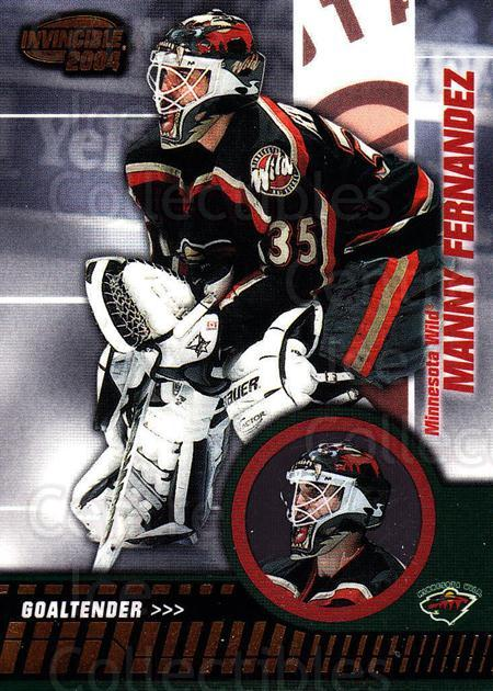2003-04 Invincible #47 Manny Fernandez<br/>3 In Stock - $1.00 each - <a href=https://centericecollectibles.foxycart.com/cart?name=2003-04%20Invincible%20%2347%20Manny%20Fernandez...&quantity_max=3&price=$1.00&code=445021 class=foxycart> Buy it now! </a>