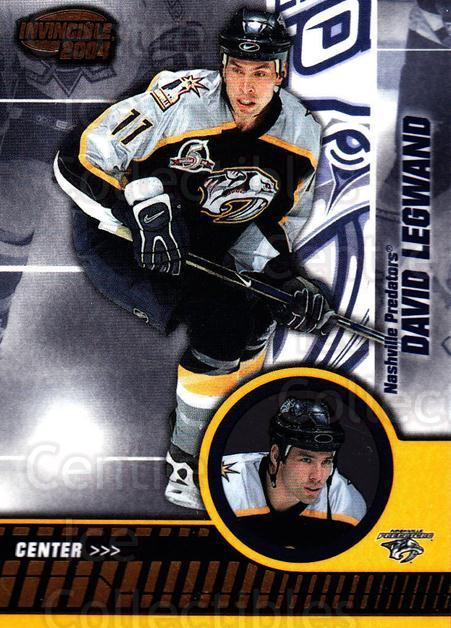 2003-04 Invincible #52 David Legwand<br/>7 In Stock - $1.00 each - <a href=https://centericecollectibles.foxycart.com/cart?name=2003-04%20Invincible%20%2352%20David%20Legwand...&quantity_max=7&price=$1.00&code=445027 class=foxycart> Buy it now! </a>