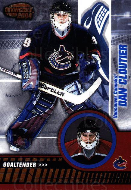 2003-04 Invincible #94 Dan Cloutier<br/>5 In Stock - $1.00 each - <a href=https://centericecollectibles.foxycart.com/cart?name=2003-04%20Invincible%20%2394%20Dan%20Cloutier...&quantity_max=5&price=$1.00&code=445061 class=foxycart> Buy it now! </a>