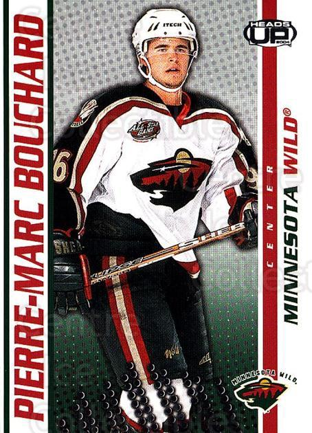 2003-04 Heads-Up #49 Pierre-Marc Bouchard<br/>4 In Stock - $1.00 each - <a href=https://centericecollectibles.foxycart.com/cart?name=2003-04%20Heads-Up%20%2349%20Pierre-Marc%20Bou...&quantity_max=4&price=$1.00&code=445084 class=foxycart> Buy it now! </a>