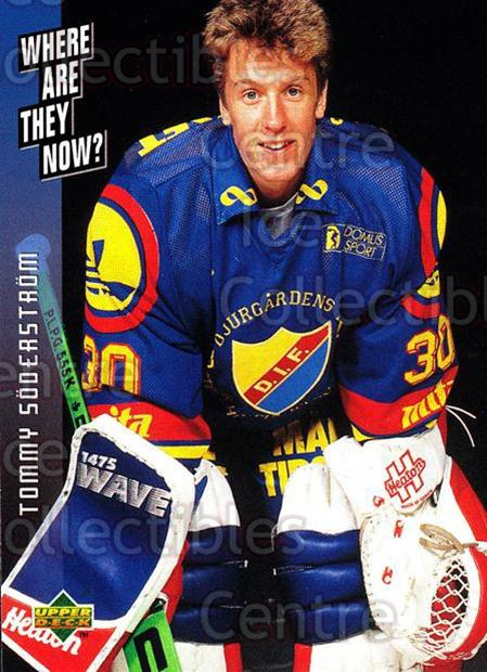1995-96 Swedish Upper Deck #238 Tommy Soderstrom<br/>8 In Stock - $2.00 each - <a href=https://centericecollectibles.foxycart.com/cart?name=1995-96%20Swedish%20Upper%20Deck%20%23238%20Tommy%20Soderstro...&price=$2.00&code=44509 class=foxycart> Buy it now! </a>