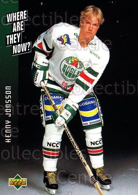 1995-96 Swedish Upper Deck #240 Kenny Jonsson<br/>8 In Stock - $2.00 each - <a href=https://centericecollectibles.foxycart.com/cart?name=1995-96%20Swedish%20Upper%20Deck%20%23240%20Kenny%20Jonsson...&quantity_max=8&price=$2.00&code=44511 class=foxycart> Buy it now! </a>