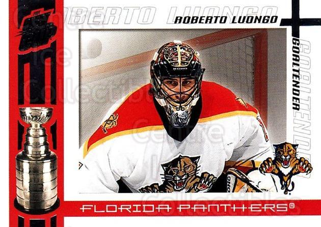 2003-04 Pacific Quest for the Cup #48 Roberto Luongo<br/>3 In Stock - $2.00 each - <a href=https://centericecollectibles.foxycart.com/cart?name=2003-04%20Pacific%20Quest%20for%20the%20Cup%20%2348%20Roberto%20Luongo...&quantity_max=3&price=$2.00&code=445137 class=foxycart> Buy it now! </a>