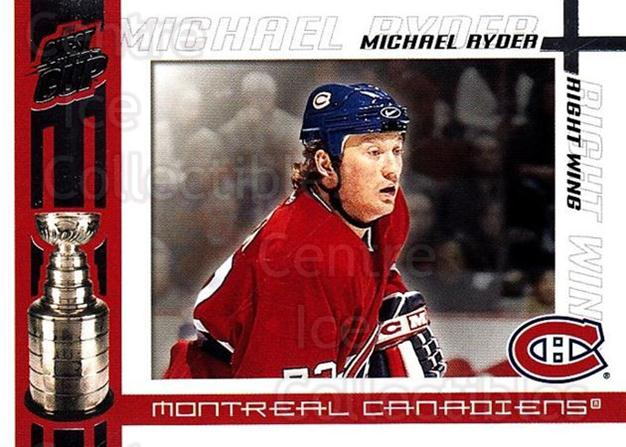 2003-04 Pacific Quest for the Cup #57 Michael Ryder<br/>3 In Stock - $1.00 each - <a href=https://centericecollectibles.foxycart.com/cart?name=2003-04%20Pacific%20Quest%20for%20the%20Cup%20%2357%20Michael%20Ryder...&quantity_max=3&price=$1.00&code=445140 class=foxycart> Buy it now! </a>