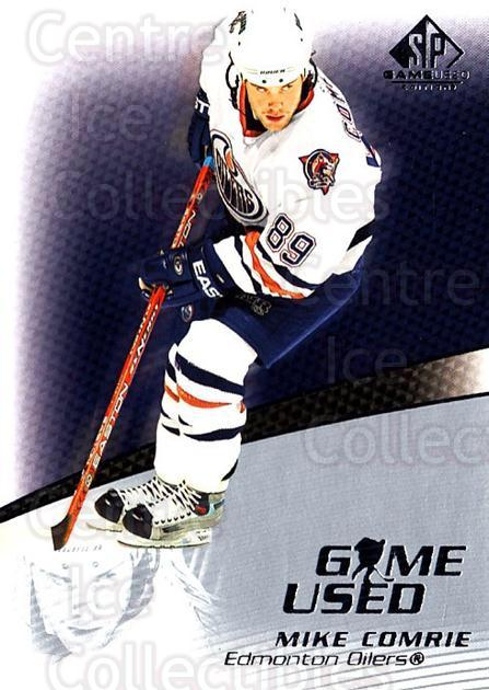 2003-04 SP Game Used #20 Mike Comrie<br/>6 In Stock - $1.00 each - <a href=https://centericecollectibles.foxycart.com/cart?name=2003-04%20SP%20Game%20Used%20%2320%20Mike%20Comrie...&quantity_max=6&price=$1.00&code=445256 class=foxycart> Buy it now! </a>