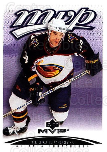2003-04 Upper Deck MVP #20 Yannick Tremblay<br/>1 In Stock - $1.00 each - <a href=https://centericecollectibles.foxycart.com/cart?name=2003-04%20Upper%20Deck%20MVP%20%2320%20Yannick%20Trembla...&quantity_max=1&price=$1.00&code=445450 class=foxycart> Buy it now! </a>