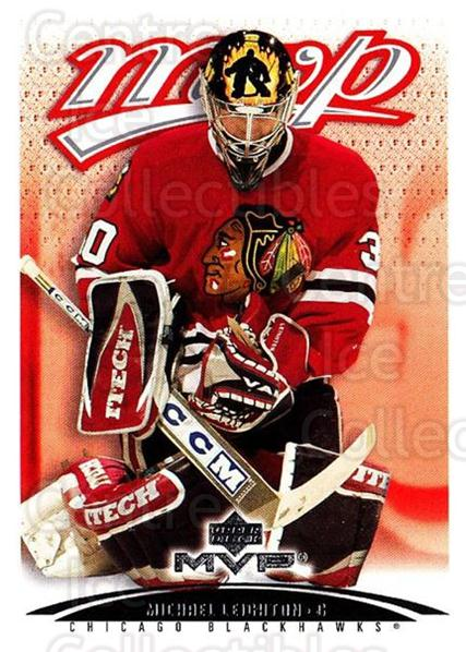 2003-04 Upper Deck MVP #99 Michael Leighton<br/>1 In Stock - $1.00 each - <a href=https://centericecollectibles.foxycart.com/cart?name=2003-04%20Upper%20Deck%20MVP%20%2399%20Michael%20Leighto...&quantity_max=1&price=$1.00&code=445454 class=foxycart> Buy it now! </a>