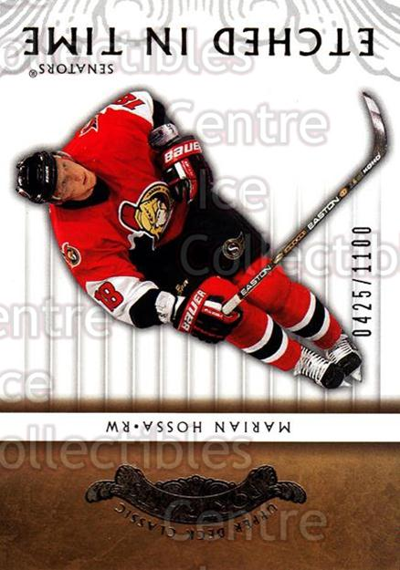 2003-04 UD Classic Portraits #112 Marian Hossa<br/>1 In Stock - $2.00 each - <a href=https://centericecollectibles.foxycart.com/cart?name=2003-04%20UD%20Classic%20Portraits%20%23112%20Marian%20Hossa...&quantity_max=1&price=$2.00&code=445723 class=foxycart> Buy it now! </a>