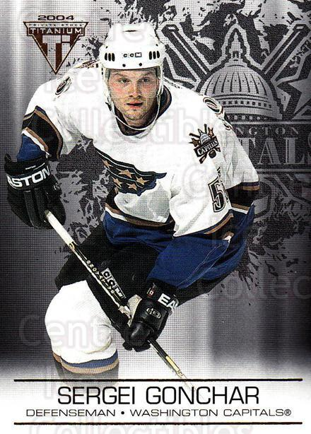 2003-04 Titanium #99 Sergei Gonchar<br/>9 In Stock - $1.00 each - <a href=https://centericecollectibles.foxycart.com/cart?name=2003-04%20Titanium%20%2399%20Sergei%20Gonchar...&quantity_max=9&price=$1.00&code=446398 class=foxycart> Buy it now! </a>