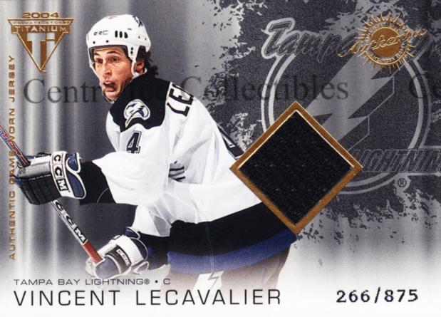 2003-04 Titanium #182 Vincent Lecavalier<br/>1 In Stock - $5.00 each - <a href=https://centericecollectibles.foxycart.com/cart?name=2003-04%20Titanium%20%23182%20Vincent%20Lecaval...&quantity_max=1&price=$5.00&code=446481 class=foxycart> Buy it now! </a>