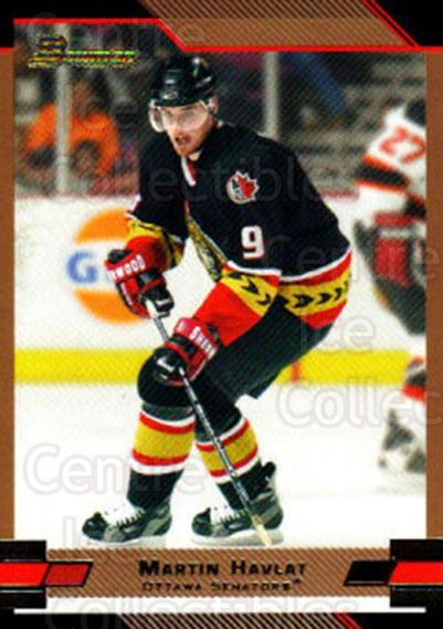 2003-04 Bowman Gold #109 Martin Havlat<br/>3 In Stock - $2.00 each - <a href=https://centericecollectibles.foxycart.com/cart?name=2003-04%20Bowman%20Gold%20%23109%20Martin%20Havlat...&quantity_max=3&price=$2.00&code=446526 class=foxycart> Buy it now! </a>