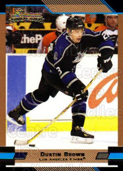 2003-04 Bowman Gold #146 Dustin Brown<br/>1 In Stock - $3.00 each - <a href=https://centericecollectibles.foxycart.com/cart?name=2003-04%20Bowman%20Gold%20%23146%20Dustin%20Brown...&quantity_max=1&price=$3.00&code=446555 class=foxycart> Buy it now! </a>