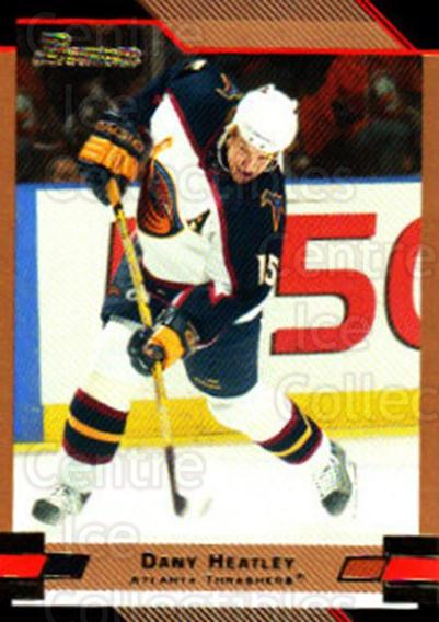 2003-04 Bowman Gold #15 Dany Heatley<br/>1 In Stock - $2.00 each - <a href=https://centericecollectibles.foxycart.com/cart?name=2003-04%20Bowman%20Gold%20%2315%20Dany%20Heatley...&quantity_max=1&price=$2.00&code=446556 class=foxycart> Buy it now! </a>