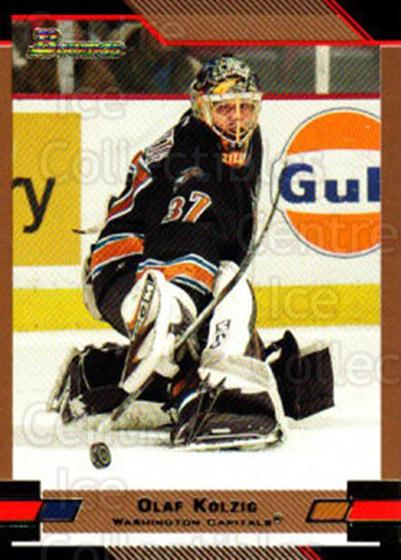 2003-04 Bowman Gold #56 Olaf Kolzig<br/>2 In Stock - $2.00 each - <a href=https://centericecollectibles.foxycart.com/cart?name=2003-04%20Bowman%20Gold%20%2356%20Olaf%20Kolzig...&quantity_max=2&price=$2.00&code=446597 class=foxycart> Buy it now! </a>