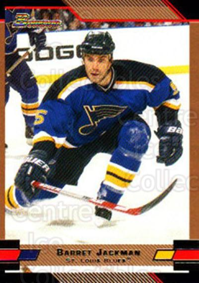 2003-04 Bowman Gold #6 Barret Jackman<br/>3 In Stock - $2.00 each - <a href=https://centericecollectibles.foxycart.com/cart?name=2003-04%20Bowman%20Gold%20%236%20Barret%20Jackman...&quantity_max=3&price=$2.00&code=446601 class=foxycart> Buy it now! </a>