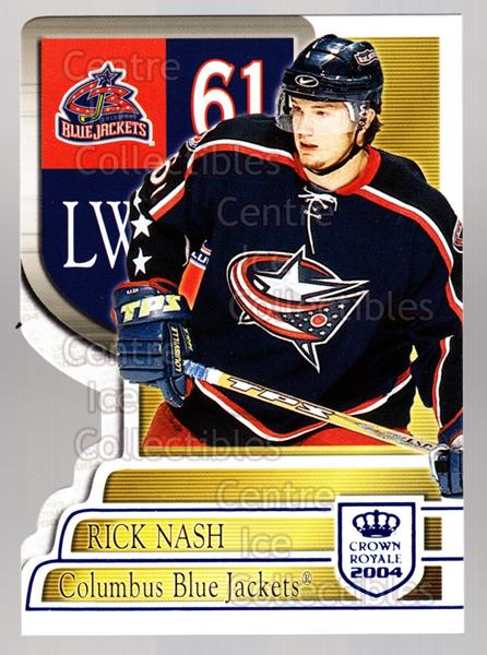 2003-04 Crown Royale Blue #30 Rick Nash<br/>3 In Stock - $3.00 each - <a href=https://centericecollectibles.foxycart.com/cart?name=2003-04%20Crown%20Royale%20Blue%20%2330%20Rick%20Nash...&quantity_max=3&price=$3.00&code=447227 class=foxycart> Buy it now! </a>