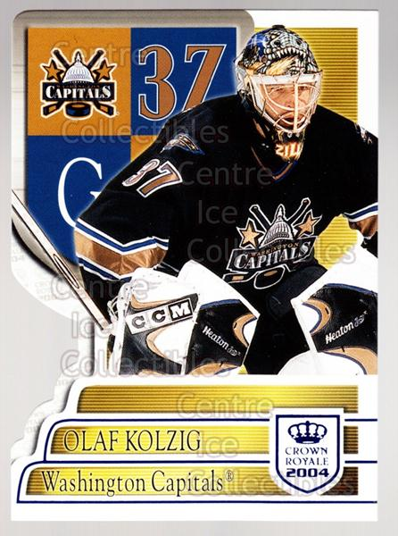 2003-04 Crown Royale Blue #100 Olaf Kolzig<br/>2 In Stock - $3.00 each - <a href=https://centericecollectibles.foxycart.com/cart?name=2003-04%20Crown%20Royale%20Blue%20%23100%20Olaf%20Kolzig...&quantity_max=2&price=$3.00&code=447239 class=foxycart> Buy it now! </a>