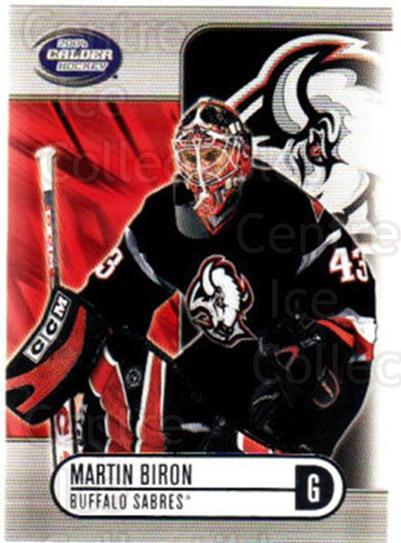 2003-04 Pacific Calder Silver #10 Martin Biron<br/>3 In Stock - $2.00 each - <a href=https://centericecollectibles.foxycart.com/cart?name=2003-04%20Pacific%20Calder%20Silver%20%2310%20Martin%20Biron...&quantity_max=3&price=$2.00&code=447314 class=foxycart> Buy it now! </a>