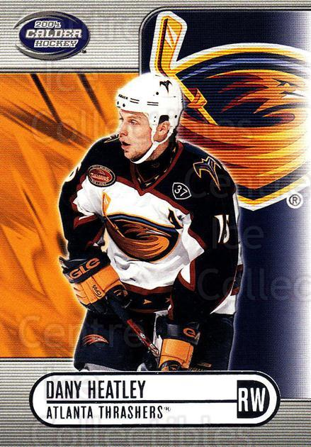 2003-04 Pacific Calder Silver #3 Dany Heatley<br/>4 In Stock - $2.00 each - <a href=https://centericecollectibles.foxycart.com/cart?name=2003-04%20Pacific%20Calder%20Silver%20%233%20Dany%20Heatley...&quantity_max=4&price=$2.00&code=447335 class=foxycart> Buy it now! </a>
