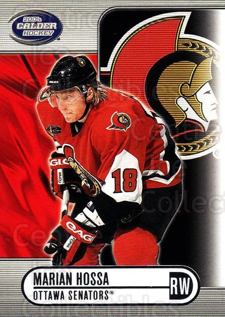 2003-04 Pacific Calder Silver #72 Marian Hossa<br/>3 In Stock - $2.00 each - <a href=https://centericecollectibles.foxycart.com/cart?name=2003-04%20Pacific%20Calder%20Silver%20%2372%20Marian%20Hossa...&quantity_max=3&price=$2.00&code=447378 class=foxycart> Buy it now! </a>