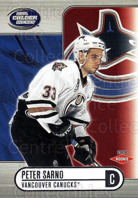 2003-04 Pacific Calder Silver #138 Peter Sarno<br/>1 In Stock - $3.00 each - <a href=https://centericecollectibles.foxycart.com/cart?name=2003-04%20Pacific%20Calder%20Silver%20%23138%20Peter%20Sarno...&quantity_max=1&price=$3.00&code=447412 class=foxycart> Buy it now! </a>