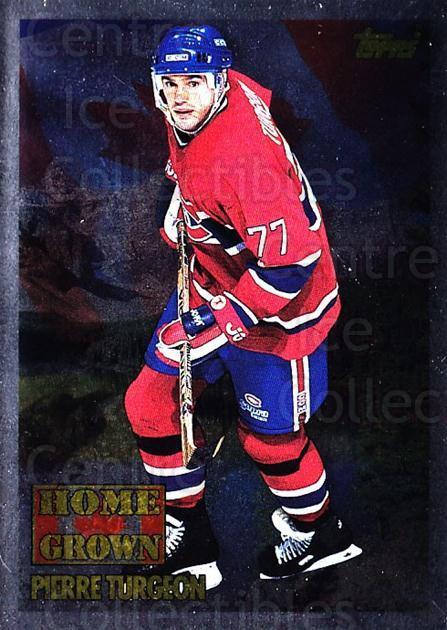 1995-96 Topps Home Grown Canada #3 Pierre Turgeon<br/>1 In Stock - $5.00 each - <a href=https://centericecollectibles.foxycart.com/cart?name=1995-96%20Topps%20Home%20Grown%20Canada%20%233%20Pierre%20Turgeon...&quantity_max=1&price=$5.00&code=44746 class=foxycart> Buy it now! </a>