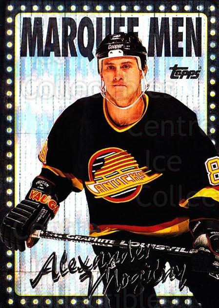 1995-96 Topps Marquee Men Power Boosters #376 Alexander Mogilny<br/>1 In Stock - $5.00 each - <a href=https://centericecollectibles.foxycart.com/cart?name=1995-96%20Topps%20Marquee%20Men%20Power%20Boosters%20%23376%20Alexander%20Mogil...&quantity_max=1&price=$5.00&code=44751 class=foxycart> Buy it now! </a>