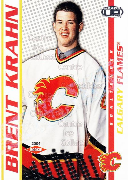 2003-04 Heads-Up Retail LTD #104 Brent Krahn<br/>3 In Stock - $3.00 each - <a href=https://centericecollectibles.foxycart.com/cart?name=2003-04%20Heads-Up%20Retail%20LTD%20%23104%20Brent%20Krahn...&quantity_max=3&price=$3.00&code=447709 class=foxycart> Buy it now! </a>