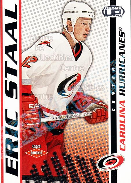 2003-04 Heads-Up Retail LTD #106 Eric Staal<br/>3 In Stock - $5.00 each - <a href=https://centericecollectibles.foxycart.com/cart?name=2003-04%20Heads-Up%20Retail%20LTD%20%23106%20Eric%20Staal...&quantity_max=3&price=$5.00&code=447711 class=foxycart> Buy it now! </a>