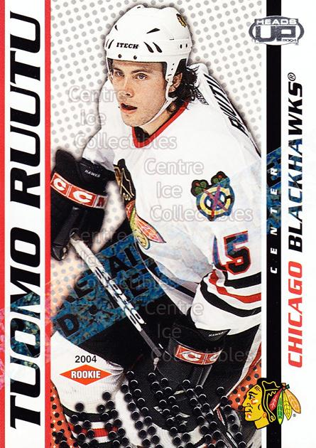 2003-04 Heads-Up Retail LTD #107 Tuomo Ruutu<br/>3 In Stock - $3.00 each - <a href=https://centericecollectibles.foxycart.com/cart?name=2003-04%20Heads-Up%20Retail%20LTD%20%23107%20Tuomo%20Ruutu...&quantity_max=3&price=$3.00&code=447712 class=foxycart> Buy it now! </a>