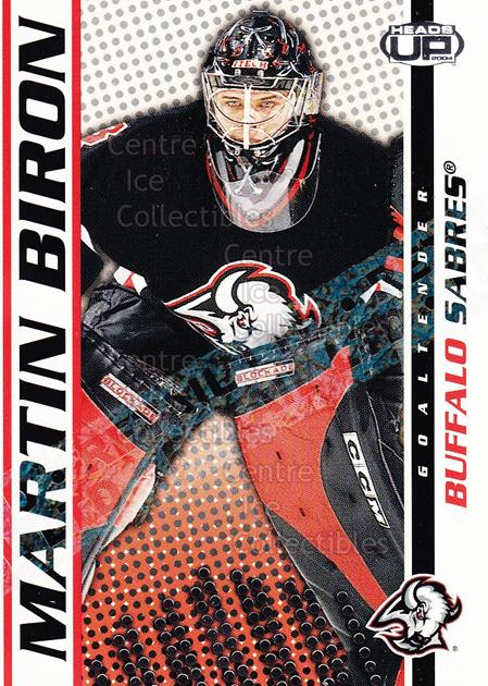 2003-04 Heads-Up Retail LTD #11 Martin Biron<br/>6 In Stock - $2.00 each - <a href=https://centericecollectibles.foxycart.com/cart?name=2003-04%20Heads-Up%20Retail%20LTD%20%2311%20Martin%20Biron...&quantity_max=6&price=$2.00&code=447715 class=foxycart> Buy it now! </a>