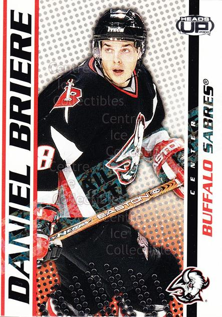 2003-04 Heads-Up Retail LTD #12 Daniel Briere<br/>5 In Stock - $2.00 each - <a href=https://centericecollectibles.foxycart.com/cart?name=2003-04%20Heads-Up%20Retail%20LTD%20%2312%20Daniel%20Briere...&quantity_max=5&price=$2.00&code=447726 class=foxycart> Buy it now! </a>