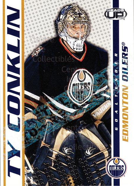 2003-04 Heads-Up Retail LTD #40 Ty Conklin<br/>5 In Stock - $2.00 each - <a href=https://centericecollectibles.foxycart.com/cart?name=2003-04%20Heads-Up%20Retail%20LTD%20%2340%20Ty%20Conklin...&quantity_max=5&price=$2.00&code=447761 class=foxycart> Buy it now! </a>