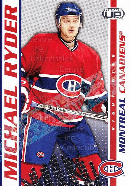 2003-04 Heads-Up Retail LTD #54 Michael Ryder<br/>2 In Stock - $2.00 each - <a href=https://centericecollectibles.foxycart.com/cart?name=2003-04%20Heads-Up%20Retail%20LTD%20%2354%20Michael%20Ryder...&quantity_max=2&price=$2.00&code=447769 class=foxycart> Buy it now! </a>