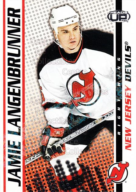 2003-04 Heads-Up Retail LTD #60 Jamie Langenbrunner<br/>5 In Stock - $2.00 each - <a href=https://centericecollectibles.foxycart.com/cart?name=2003-04%20Heads-Up%20Retail%20LTD%20%2360%20Jamie%20Langenbru...&quantity_max=5&price=$2.00&code=447775 class=foxycart> Buy it now! </a>