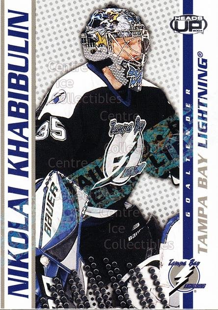 2003-04 Heads-Up Retail LTD #86 Nikolai Khabibulin<br/>3 In Stock - $2.00 each - <a href=https://centericecollectibles.foxycart.com/cart?name=2003-04%20Heads-Up%20Retail%20LTD%20%2386%20Nikolai%20Khabibu...&quantity_max=3&price=$2.00&code=447792 class=foxycart> Buy it now! </a>