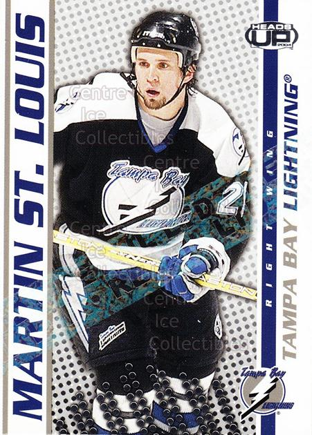 2003-04 Heads-Up Retail LTD #88 Martin St. Louis<br/>6 In Stock - $2.00 each - <a href=https://centericecollectibles.foxycart.com/cart?name=2003-04%20Heads-Up%20Retail%20LTD%20%2388%20Martin%20St.%20Loui...&quantity_max=6&price=$2.00&code=447793 class=foxycart> Buy it now! </a>