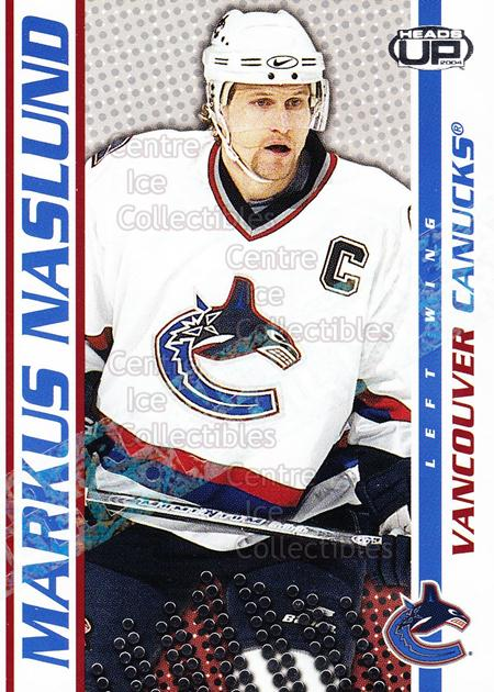 2003-04 Heads-Up Retail LTD #98 Markus Naslund<br/>2 In Stock - $2.00 each - <a href=https://centericecollectibles.foxycart.com/cart?name=2003-04%20Heads-Up%20Retail%20LTD%20%2398%20Markus%20Naslund...&quantity_max=2&price=$2.00&code=447802 class=foxycart> Buy it now! </a>