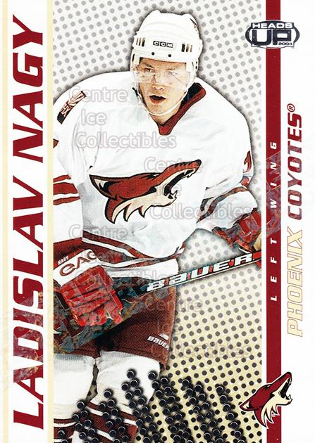 2003-04 Heads-Up Retail LTD #77 Ladislav Nagy<br/>3 In Stock - $2.00 each - <a href=https://centericecollectibles.foxycart.com/cart?name=2003-04%20Heads-Up%20Retail%20LTD%20%2377%20Ladislav%20Nagy...&quantity_max=3&price=$2.00&code=447824 class=foxycart> Buy it now! </a>
